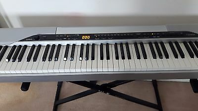 CASIO DIGITAL PIANO PX-310 with STAND, COVER & Pedal  COLLECT ONLY GARFORTH LS25