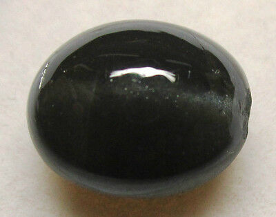 Natural Black cat's eye 8.80 ct. Ring / Pendant Style Cabochon / Sb11146