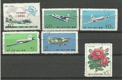 Korea used lot 1974-75 **3 scans*