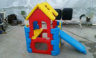 Kids play equipment ,  cubby house,  slide . In vgc seaford