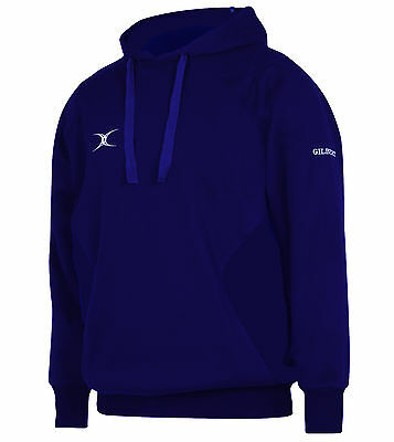 Clearance New Ex- Display Gilbert Rugby Vapour Hoodie Navy Medium