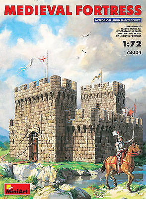 Miniart 72004 MEDIEVAL FORTRESS 1/72