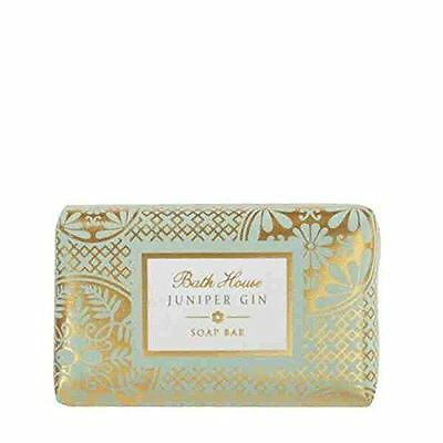 Classic Collection Juniper Gin Scented Soap Bar by Bath House