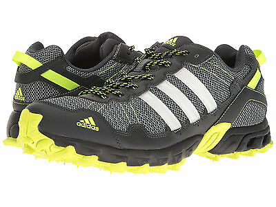 Men's Adidas Rockadia Trail Grey Sport Athletic Running Shoes BY1789 Size 8-15
