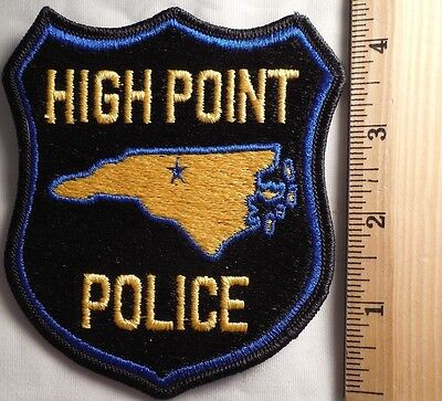 High Point North Carolina Police Patch (Highway Patrol, Sheriff, Ems, State)