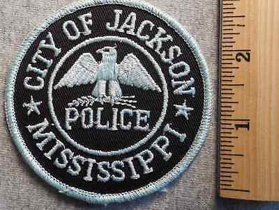 City Of Jackson Mississippi Police Patch (Highway Patrol, Sheriff, Ems, State)