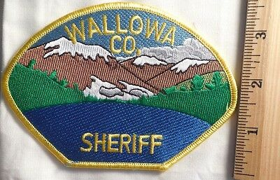 Wallowa County Oregon Police Patch (Fire, Highway Patrol, State Police)