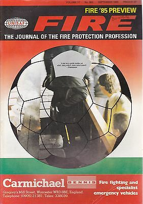 FIRE Journal - SEPTEMBER 1985