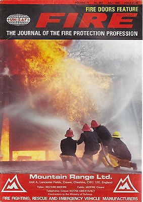 FIRE Journal - JULY 1985