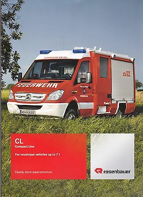 ROSENBAUER Municipal CL 7-tonne Fire Appliance Brochure