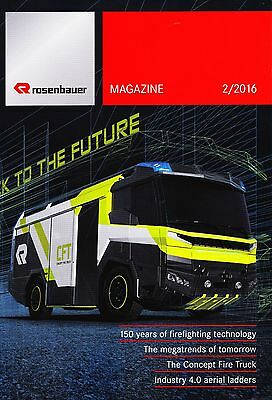 OFFICIAL ROSENBAUER MAGAZINE - Winter 2016