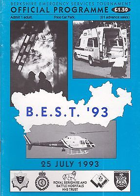 Berkshire Emergency Services Tounament 1993