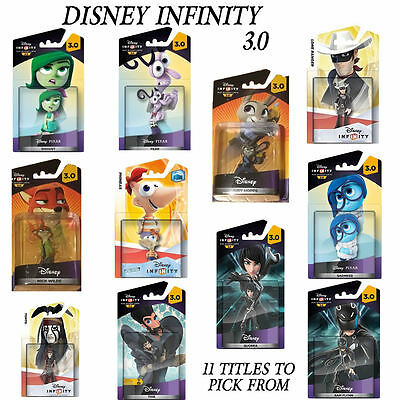 Disney Infinity 3.0 Figures Choose from 11 Characters  Xbox 360 / Xbox One / PS3