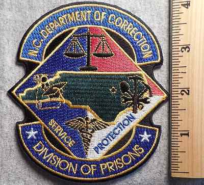 North Carolina Department Of Correction Patch (Highway Patrol, Sheriff, Ems)