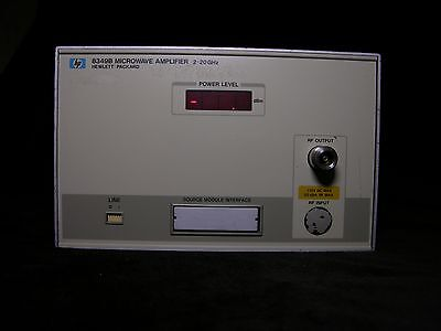 HP 8349B MICROWAVE AMPLIFIER 2-20 GHz