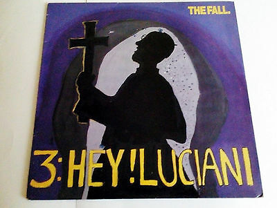 """The Fall - Hey Luciani - 12"""" Vinyl Ep Record P/s (1986)"""