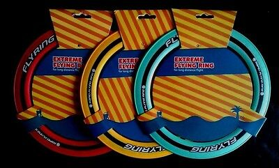 """Extreme Sprint Flying Ring 10"""" Frisbee Garden Games Outdoor Toy Backpacking"""