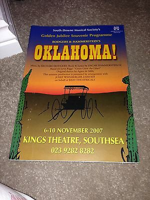Oklahoma Programme The Kings Theatre Southsea