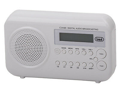 Trevi DAB790R Portable DAB / DAB+ and FM Radio with RDS Function FREE DELIVERY