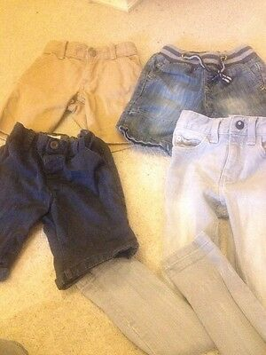 Boys Shorts And Skinny Jean Bundle Age 3 - 4 Years Next & Gap Included