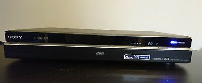SONY RDR-HXD995 HDD / DVD Recorder (250GB) PVR, Freeview, DVB HD 1080p Upscaling