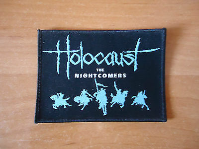 Holocaust woven patch tank exciter angel witch diamond head witchfynde voivod