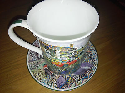 mug and saucer By Hudson Middleton (Careful Owners)