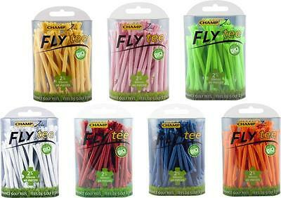 Champ Fly Tees 2 3/4 Inch, Colour White, Pack Of 48