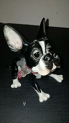 Boston terrier / french bulldog ornament