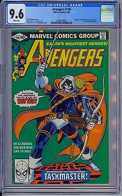 AVENGERS #196 - CGC 9.6 White Pages - NM+ First TASKMASTER - New Case