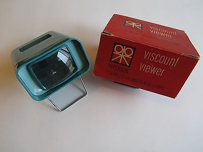 Vintage Paterson Viscount Viewer for 35mm and 4x4 cm Slides