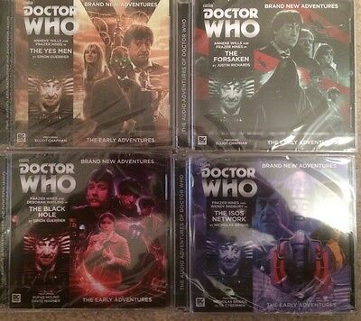 Doctor Who Early Adventures 2.1 - 2.4 Big Finish Audio