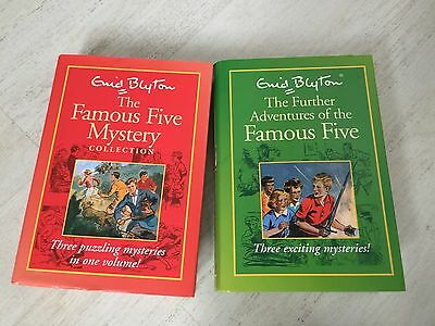 2 Enid Blyton Famous Five Hardback Collections