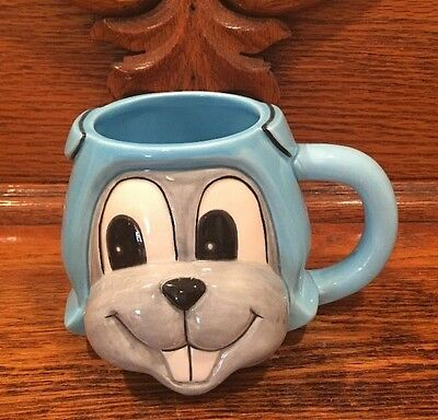 VTG Rocky The Flying Squirrel From Rocky & Bullwinkle Coffee Mug / Cup *EVC