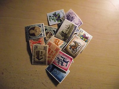San Marino  15 Different Stamps  MNH/MH/Used