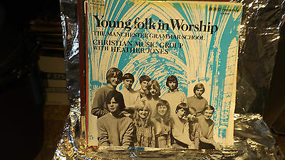 YOUNG  FOLK IN WORSHIP BBC LP Record