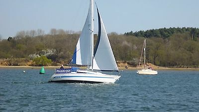 SAILING YACHT SEAWOLF 26ft  Very good condition
