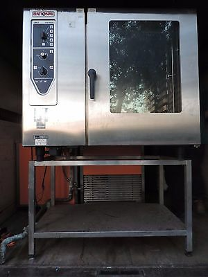 COMBI OVEN (RATIONAL) Gas