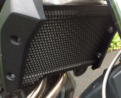 Yamaha Tracer 700 Radiator Guard.  Rad Cover.  2016 2017   Stainless Steel.