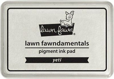 YETI WHITE PIGMENT LF1003 - LAWN FAWN Acid-Free DYE INK PAD Made in USA