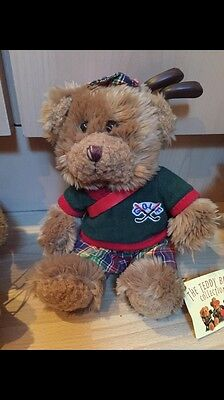 The Teddy Bear Collection. Gordon The Golfer. Soft Toy. Number 4