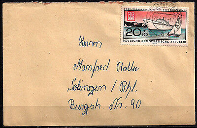 AC-DDR. 1961. Ships. Cover