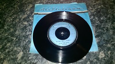 Sylivia And Chuck Jackson We Can't Hide It Away 1977 All Platinum Rare Single