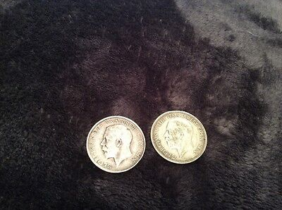 shillings 1915 and 1932