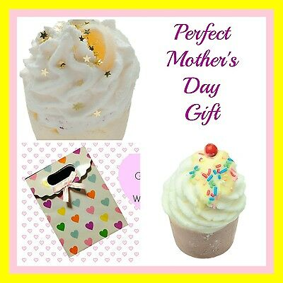 Perfect Mother's Day Gift - 2 Gorgeous Bath Bath Mallows With Free Gift Bag