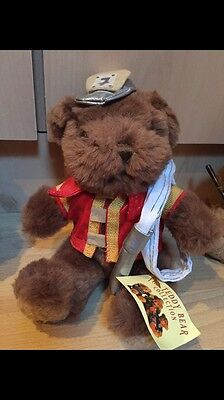 The Teddy Bear Collection. Freddy The Fireman. Soft Toy. Number 16