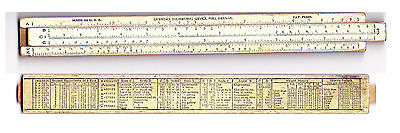 RECHENSCHIEBER / SLIDE RULE - Made in USA - Lawrence Engineering. PERU - INDIANA