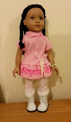 "*18"" Design A Friend Doll in Pink Outfit!!*"