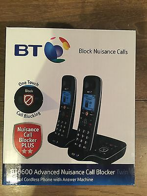 BT6600 Advanced Nuisance Call Blocker. Digital Cordless Phone, Answer Machine.