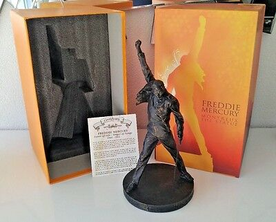 Freddie Mercury Official Statue Queen Collectible Action Figure 13.3'' 34cm